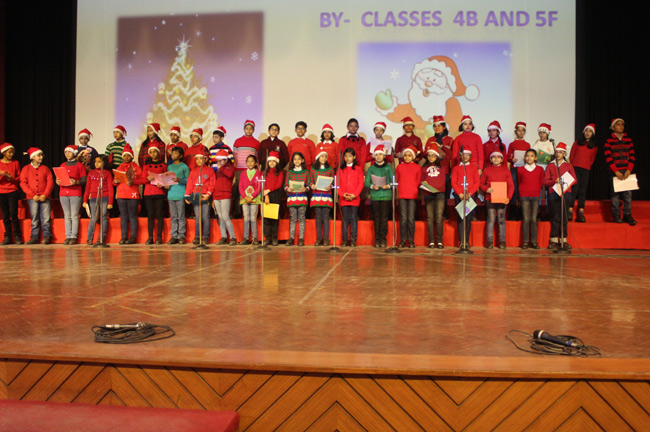 CHRISTMAS ASSEMBLY...