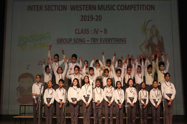 INTER- SECTION WESTERN MUSIC COMPETITION