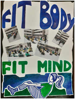 Fit India Moment Somerville School Noida